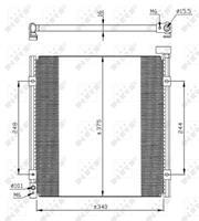 NRF Klimakondensator EASY FIT 35264 Kondensator,Klimakühler HONDA,CIVIC VI Hatchback EJ, EK,CIVIC VI Fastback MA, MB,CIVIC VI Stufenheck EJ, EK