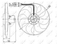 Volkswagen Koelventilatorwiel