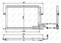 ford Condensor, airconditioning