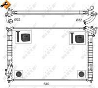 NRF Wasserkühler 53808 Kühler,Motorkühler MINI,MINI R50, R53,MINI Cabriolet R52