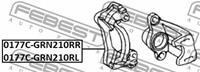 Toyota Remklauwhouderset