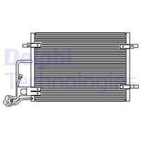 DELPHI Klimakondensator TSP0225453 Kondensator,Klimakühler VW,SKODA,PASSAT Variant 3B6,PASSAT 3B3,SUPERB 3U4