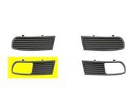seat BUMPERGRILL ONDER RECHTS 7/96+ met MISTLICHTGAT niet voor GT niet voor 16V