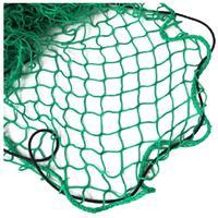 Aanhanger net met elastiek groen 300 x 160 cm Groen