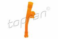 Trechter, oliepeilstok TOPRAN, Oranje