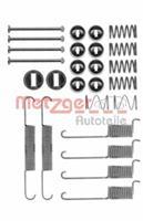 Zubehörsatz, Bremsbacken | METZGER (105-0715)