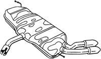 Rohrverbinder, Abgasanlage Bosal 250-150
