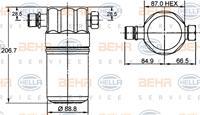 MAHLE ORIGINAL Trockner AD 36 000S Klimatrockner,Klimaanlage Trockner VW,AUDI,PASSAT Variant 3B5,PASSAT 3B2,A4 8D2, B5,A6 Avant 4B5, C5