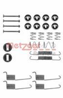 Zubehörsatz, Bremsbacken | METZGER (105-0714)