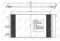 NRF Klimakondensator EASY FIT 35921 Kondensator,Klimakühler FIAT,PANDA 169,PANDA Van 169
