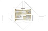 NRF Weerstand, interieurventilator , 3-polig, 12 V