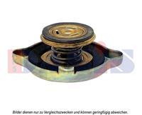 Verschlussdeckel, Kühler   AKS DASIS (750660N)