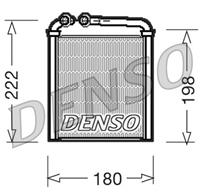 DENSO Kachelradiateur, interieurverwarming