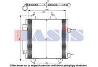 AKS DASIS Condensor, airconditioning