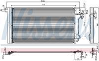 NISSENS Klimakondensator 94604 Kondensator,Klimakühler VW,TRANSPORTER V Bus 7HB, 7HJ, 7EB, 7EJ, 7EF,MULTIVAN V 7HM, 7HN, 7HF, 7EF, 7EM, 7EN