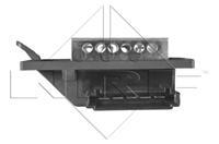 NRF Weerstand, interieurventilator , 5-polig, 12 V