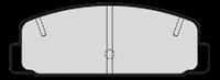 Valeo Bremsbeläge 301780 Bremsklötze,Scheibenbremsbelag MAZDA,6 Station Wagon GY,6 Kombi GH,323 F VI BJ,PREMACY CP,6 Hatchback GG,6 GG,6 Schrägheck GH