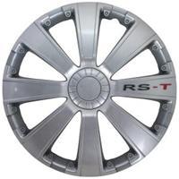 mijnautoonderdelen Wieldop Set RS-T 13 Silver PP 5073