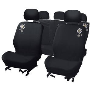 carpoint Stoelhoesset 9-delig 'Daisy' airbag 10123