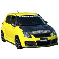 chargespeed Charge Speed Vspoiler SZ Swift II Sport 05- 'Bot CS 6005