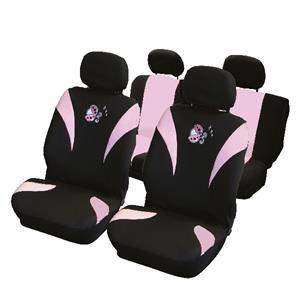 carpoint Stoelhoesset 8-delig 'Lieveheersbeestje' airbag 10132
