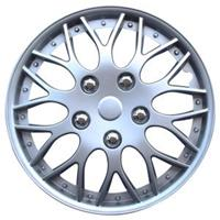 mijnautoonderdelen Wieldop Set Missouri 13 Silver PP 9703