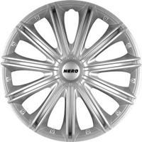 mijnautoonderdelen Wieldop Set Nero 14'' Silver PP 5114
