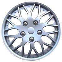 mijnautoonderdelen Wieldop Set Missouri 14 Silver PP 9704