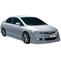 carcept VSpoiler HO Civic Sedan 05- (Hybrid CT HCV1