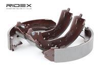 RIDEX Bremsbacken 70B0157 Trommelbremsbacken,Bremsbackensatz VW,TOYOTA,VOLVO,TARO,LAND CRUISER 90 _J9_