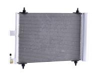 ridex Condensor Airco PEUGEOT,CITROËN 448C0004 6455CP,6455FX,6455GY Airco Radiator,Condensator, airconditioning 6455CP,6455FX,6455GY