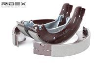 RIDEX Bremsbacken 70B0133 Trommelbremsbacken,Bremsbackensatz LAND ROVER,FREELANDER LN,FREELANDER Soft Top