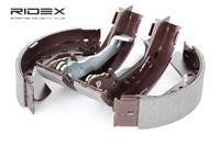 RIDEX Bremsbacken 70B0118 Trommelbremsbacken,Bremsbackensatz HYUNDAI,ACCENT II LC,ACCENT I X-3,ACCENT II Stufenheck LC,ACCENT Stufenheck X-3