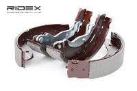 RIDEX Bremsbacken 70B0028 Trommelbremsbacken,Bremsbackensatz HONDA,ROVER,MG,CIVIC VI Hatchback EJ, EK,CIVIC VI Fastback MA, MB