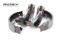 RIDEX Bremsbacken 70B0124 Trommelbremsbacken,Bremsbackensatz PEUGEOT,CITROËN,MAZDA,1007 KM_,C2 JM_,C3 I FC_,C3 II,C3 Pluriel HB_,C2 ENTERPRISE