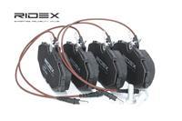 RIDEX Bremsbeläge 402B0115 Bremsklötze,Scheibenbremsbelag PEUGEOT,CITROËN,306 Schrägheck 7A, 7C, N3, N5,607 9D, 9U,306 Cabriolet 7D, N3, N5