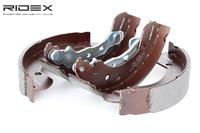 RIDEX Bremsbacken 70B0103 Trommelbremsbacken,Bremsbackensatz RENAULT,NISSAN,CLIO III BR0/1, CR0/1,MODUS / GRAND MODUS F/JP0_,CLIO Grandtour KR0/1_