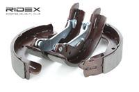 RIDEX Bremsbacken 70B0143 Trommelbremsbacken,Bremsbackensatz CHEVROLET,DAEWOO,SPARK M300,KALOS,AVEO Schrägheck T250, T255,AVEO Schrägheck T300