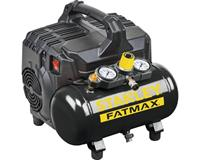 stanley DST101/8/6 Compressor - 0,75kW - 8 Bar - 6L - 105L/min - Olievrij