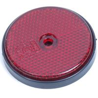 Huismerk Reflector rond 60mm rood