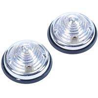 Huismerk Positielamp 2 delig WIT