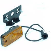 Huismerk Contourverlichting oranje led 10-30 volt + steun