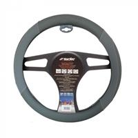 Simoni Racing stuurwielhoes Shammy 37 39 cm eco leer grijs