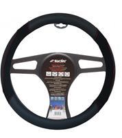 Simoni Racing stuurwielhoes Shammy 37 39 cm eco leer zwart