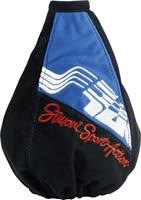 Simoni Racing Pookhoes Sport Action zwart/blauw Microfibre SRPH91A