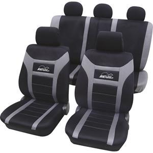 HP Autozubehör Sitzbezug Polyester Anthrazit Fahrersitz, Beifahrersitz, Rücksitz