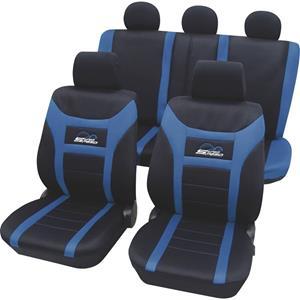 hpautozubehör HP Autozubehör 22911 Autostoelhoes Polyester Blauw Bestuurder, Passagier, Achterbank