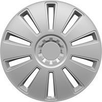 hpautozubehör HP Autozubehör GRID Wieldoppen R14 Zilver 1 stuk(s)