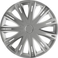 hpautozubehör HP Autozubehör Wieldoppen R16 Zilver 1 stuk(s)