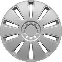 hpautozubehör HP Autozubehör GRID Wieldoppen R16 Zilver 1 stuk(s)